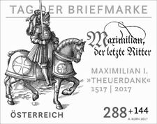 Austria 2017 - Tag der Briefmarke 2017 black proof mnh