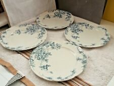 1890 - 91 FOUR SIDE / DESSERT PLATES   NO  MAKER   CLIFFORD PATTERN  A / F