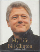 Bill Clinton My Life 4 Cassette Audio Book Abridged US President Autobiography