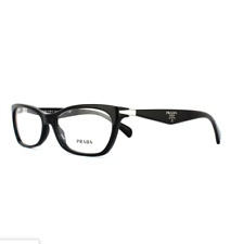 Prada Glasses Frames 1PR15PV 1AB1O1 53 Black  Women's Optical Frame