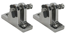 Boat Canopy Bimini Deck Mount Angled Quick Release Toggle Pin x 2 pieces