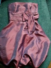 girl 12 years 11-12 years tammy party shiny purple dress