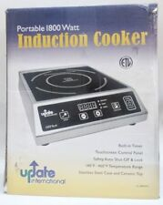 Update International - Portable 1800 Watt Induction Cooker, Damaged Box