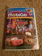 VTech MobiGo Software Disney Pixar CARS 2 Learning Games Math Spelling Preowned