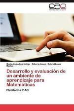 USED (LN) Desarrollo y evaluación de un ambiente de aprendizaje para Matemáticas
