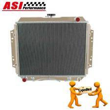 3ROW Aluminum Radiator FOR HOLDEN RODEO TF G3 G6 PETROL 2.2L 2.6L  1987-1997 AU