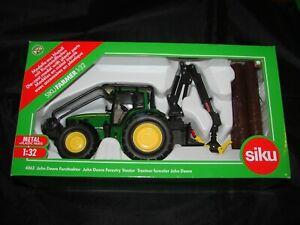 SIKU FARMER 1/32 TRACTEUR FORESTIER JOHN DEERE 7530  NEUF EN BOITE 4063