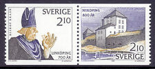 Architecture Single Swedish Stamps