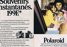 PUBLICITE ADVERTISING 045 1973 POLAROID Colorpack 80 (2 pages)