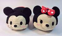 "Tsum Tsum Disney Mickey Minnie Mouse Set Plush Toy 11"" Medium"