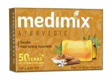 1x Medimix Ayurvedic Sandal Fast Acting Ayurveda Bathing Soap 125g