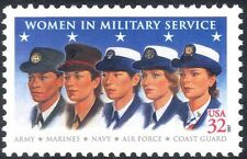 USA 1997 Women/Military/Armed Services/Uniforms/Army/Navy/Air Force 1v (n44052)