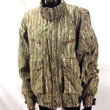 Trophy Club Vintage Size M Camo Hunting/Outdoor Full Zip Jacket Coat