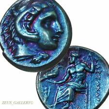 ALEXANDER the Great Rare LIFETIME Drachm AU Ancient Greek Silver COIN Herakles