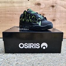 Osiris D3 2001 Shoes Brigade/Green Camouflage Men's Size 7 Condition New In Box