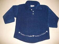 Teddy Sensino toller kuscheliger Pullover Gr. 74 blau !!