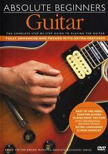Absolute Beginners Guitar Music Lesson Tutor Book DVD