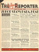 APRIL 28 1932 THE HOLLYWOOD REPORTER movie magazine - ZUKOR STAYS PARA. HEAD