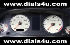 PEUGEOT 306 PHASE 2 (1997-1999) - 140mph (Petrol or Diesel) - WHITE DIAL KIT