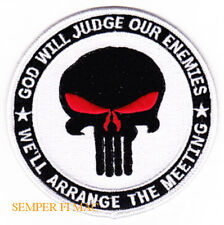 US NAVY SEALS GOD WILL JUDGE OUR ENEMIES WE WILL ARANGE THE MEETINGS PATCH
