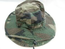 DPC Size M Camo Fishing Bucket Boonie Sun Hat Cotton Camping Dorfman Pacific Co