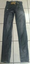 Apple Bottoms Anotomy of Fashion Skinny Jeans With Gold Belt Buckle Size 3 / 4