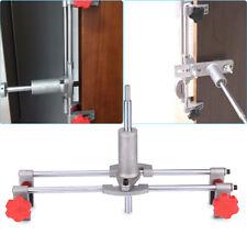 Door Lock Mortiser Fitting Jig Mortice Kit + Wrench Home Door Installing Tools H