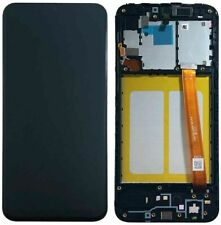 Samsung Galaxy A20e LCD A202F Replacement AMOLED Touch Screen With Frame Black
