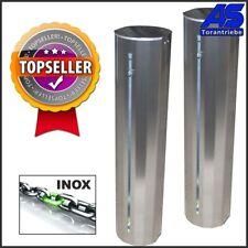 Kettenschranke Kettensperre KS6 mit LED-Blinkleuchte - EDELSTAHL INOX  Torantrie