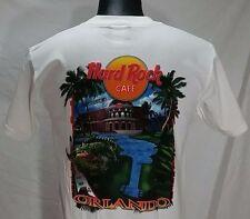 Vintage Hard Rock Cafe Orlando T Shirt S Guitar Alligator Graphic Tee DEADSTOCK