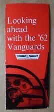 STANDARD VANGUARD orig 1961-62 UK Mkt sales brochure - Luxury Six Companion