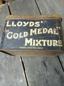 Vintage Large Lloyds Gold Medal Mixture Tobacco Tin