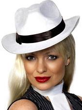 Chapeaux et coiffes blancs Smiffys pour déguisement et costume