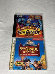 The ClueFinders 5th Grade Adventures & Jumpstart 5th Grade Bundle