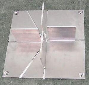 """Model Rocket Fin Alignment Jig 12"""" Precision Aluminum HPR MPR Estes Aerotech PML"""