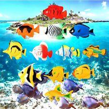 12pcs Plastic Marine Animal Tropical Fish Ocean Creatures Sea Kids Model Toy