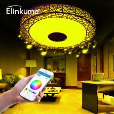 Musik LED Deckenlampe,Modern Nest Design Bluetooth Intelligente Dimmbar Lampe