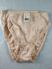 NWT Vintage Partners By Mervyn's Honey Beige Nylon/Spandex Panties Size Medium
