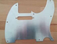 Genuine Aluminum Tele Pickguard Silver Chrome for USA Fender Telecaster Guitar