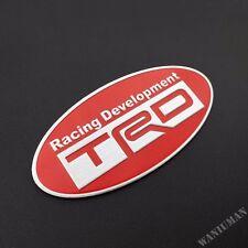 Aluminum TRD Sport Badge Emblem Decal Sticker Camry RAV4 Vios Corolla