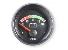 VDO Voltmeter 12V Instrument 52mm Gauge Cockpit International Classic VW ATK