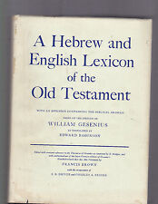 A Hebrew and English Lexicon of the Old Testament, Gesenius, 1966 HC with DJ