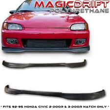 92 93 94 95 Honda Civic Hatch 3DR Hatchback TR JDM Front & Rear Bumper Lips Poly