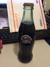 RARE! Super Bowl XXVIII Coca Cola Coke 8oz Glass Bottle Unopened