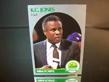 K.C.Jones NBA Hoops 1990 Card #329 Seattle SuperSonics NBA Basketball