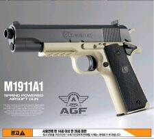 Academy  m1911a1  Airsoft Gun / Spring hop up systems / 6mm BB +400 psc  Bullets