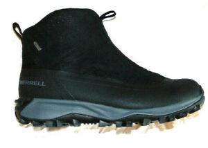 Merrell Men J99843 ThermoSnowdrift BlackWarm Winter Select Dry Boots Shoe~8.5/9