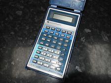 Vintage Texas Instruments ti57 calcolatore programmabile primi Design obliquo