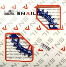 SNAIL ZFC-XD 32T BLUE ALLOY 104BCD NARROW WIDE N/W CHAINRING 8 9 10 11 SPEED