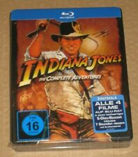 Indiana Jones The Complete Adventures Lenticular Blu Ray Steelbook Jumbo German